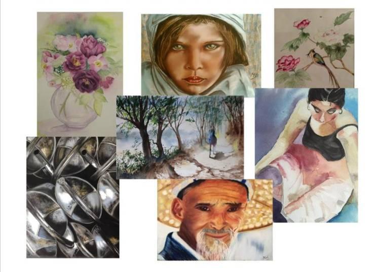 Exposition de peinture � Saint Saens