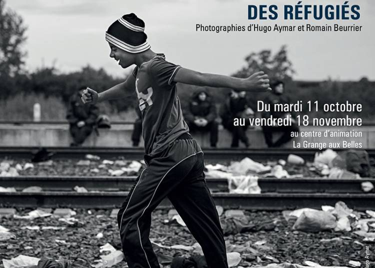 Exposition La route des r�fugi�s � Paris 10�me