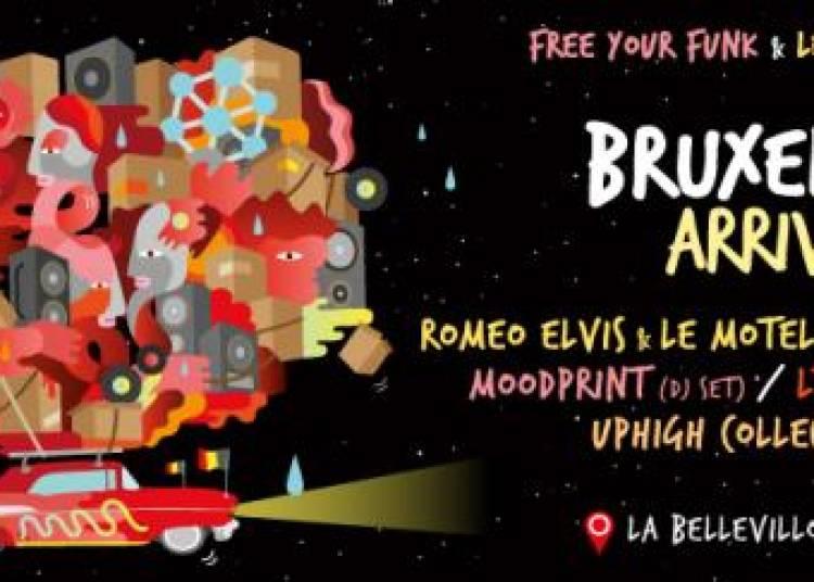Bruxelles Arrive � Paris 20�me