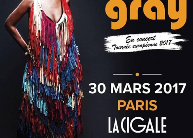 Macy Gray à Paris 18ème