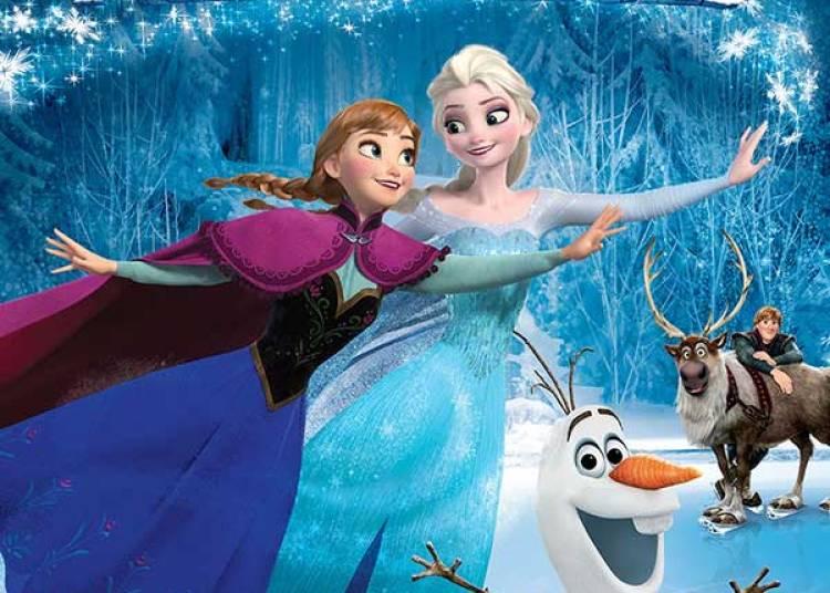 Disney Sur Glace - Reine Des Neiges à Paris 19ème