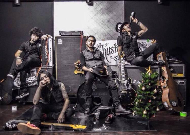 X Made Alcoholic Santaclaus (heavy Rock - Japon) Et Bareteeth (punk Rock - Lille) à Roubaix