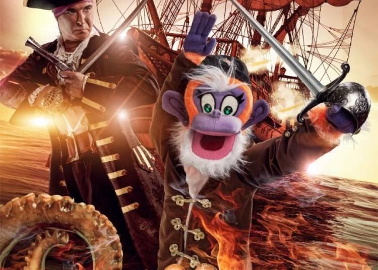 Les aventures de Fredy le pirate et Christian Gabriel � Bourg de Peage