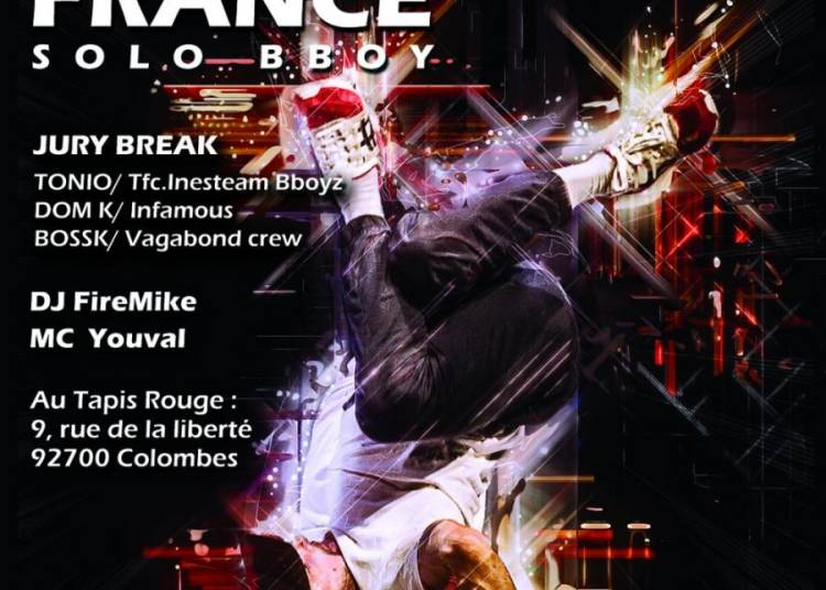 R16 France Solo Bboy - Selection Nationale Fran�aise De Breakdance 1x1 � Colombes