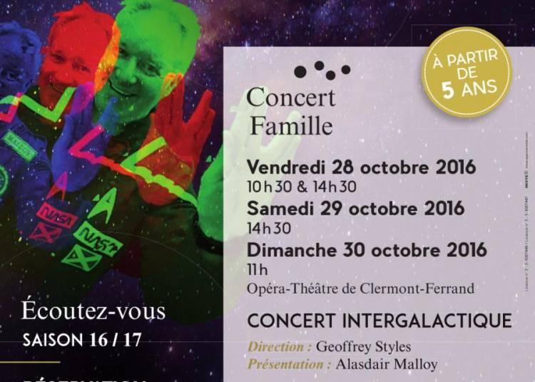 Concert intergalactique � Clermont Ferrand
