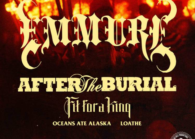 Emmure + After The Burial + Fit For à Villeurbanne