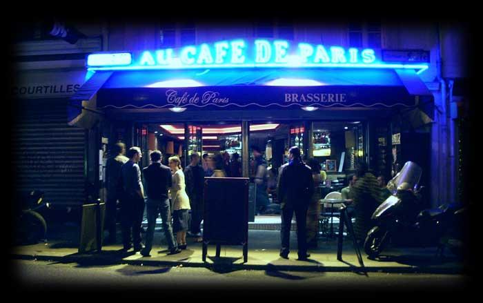 Caf de paris - Camif paris ...