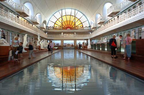 La piscine muse d 39 art et d 39 industrie andr diligent roubaix - Piscine municipale roubaix ...