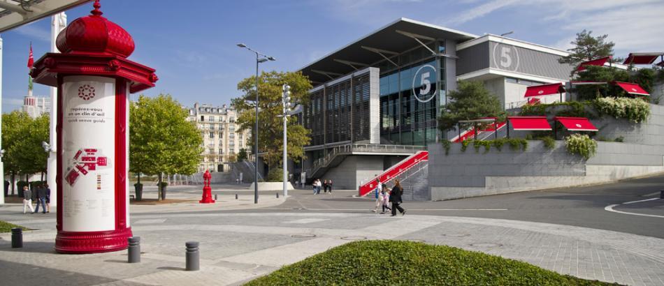 Paris expo porte de versailles for Porte de versailles plan