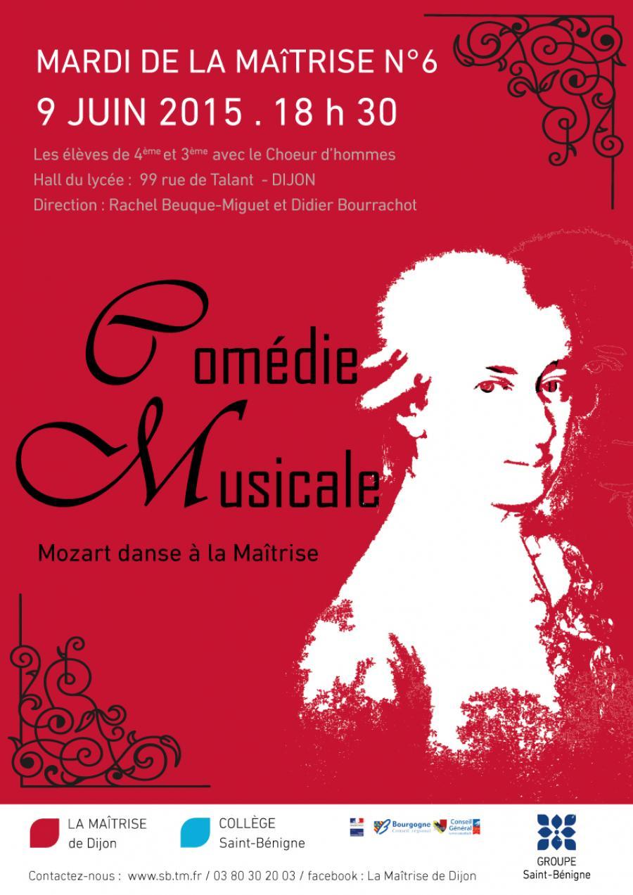 Concert mozart danse la ma trise dijon le 9 juin 2015 for Le divan 9 juin 2015