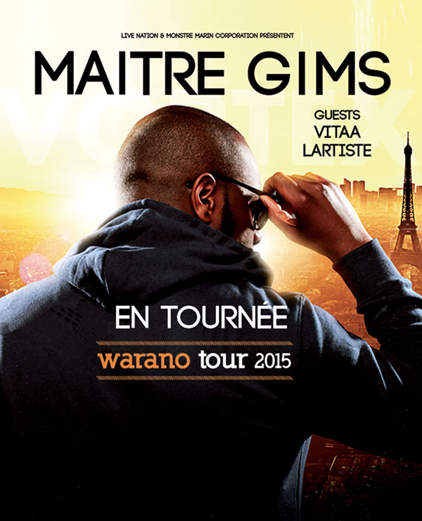 concert maitre gims bayonne dimanche 17 juillet 2016. Black Bedroom Furniture Sets. Home Design Ideas