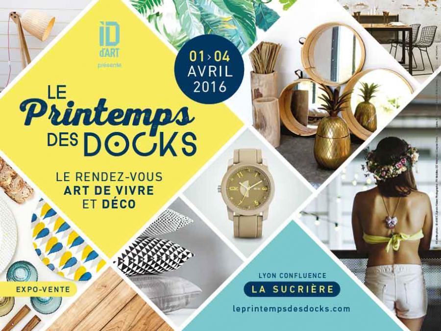 exposition le printemps des docks by id d 39 art lyon. Black Bedroom Furniture Sets. Home Design Ideas