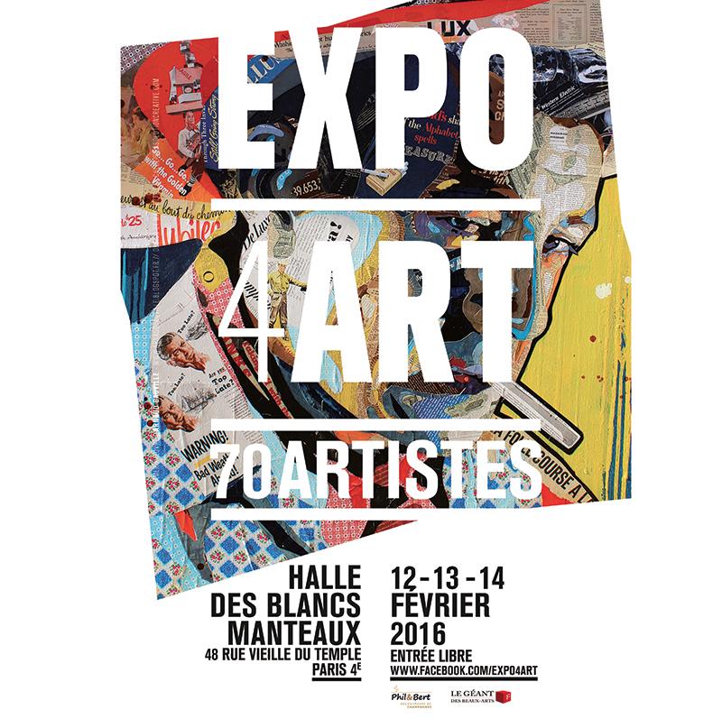 Exposition expo4art paris dimanche 14 f vrier 2016 for Expos paris novembre 2016