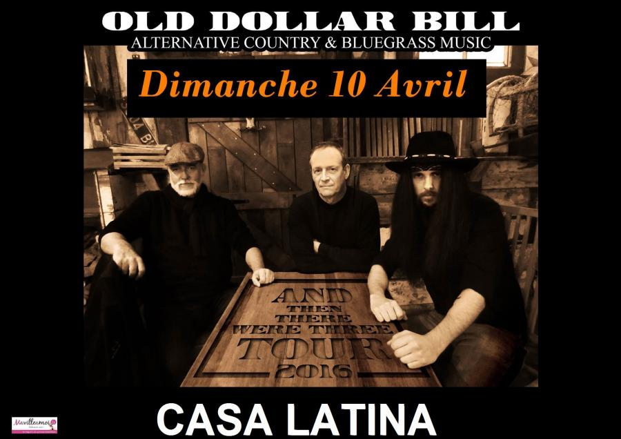concert old dollar bill bordeaux dimanche 10 avril 2016. Black Bedroom Furniture Sets. Home Design Ideas
