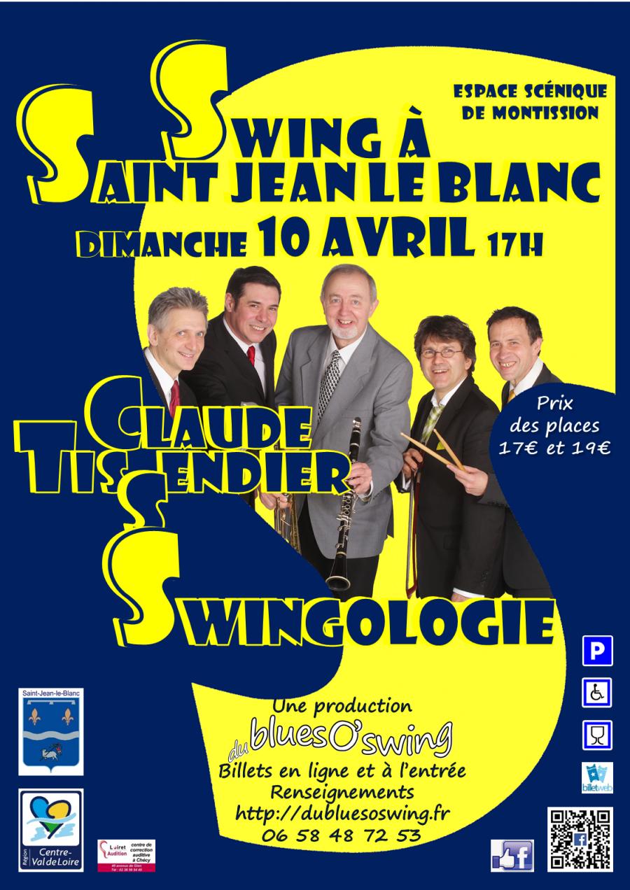 concert swingologie de claude tissendier 224 jean le blanc dimanche 10 avril 2016