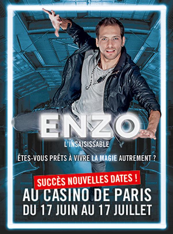 enzo linsaisissable casino de paris fnac