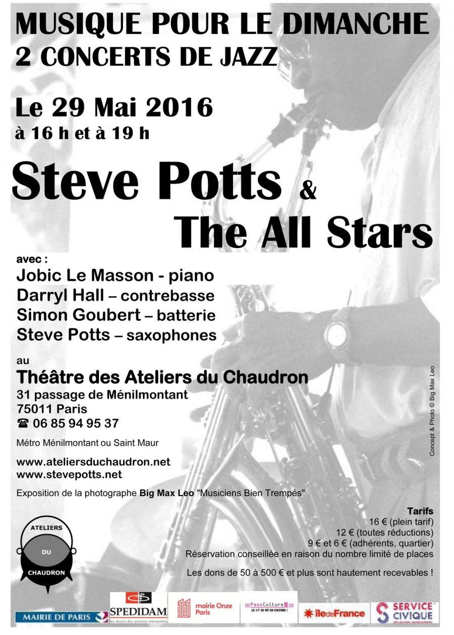 Steve Potts Musique Pour Le Film DUn Ami