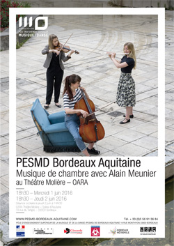 Concert musique de chambre avec alain meunier bordeaux - Concours international de musique de chambre de lyon ...