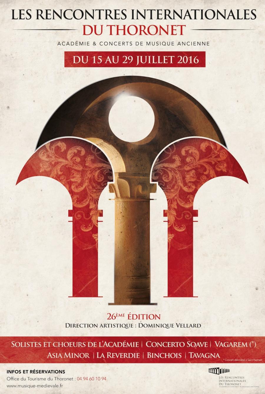 Rencontre musique medievale thoronet