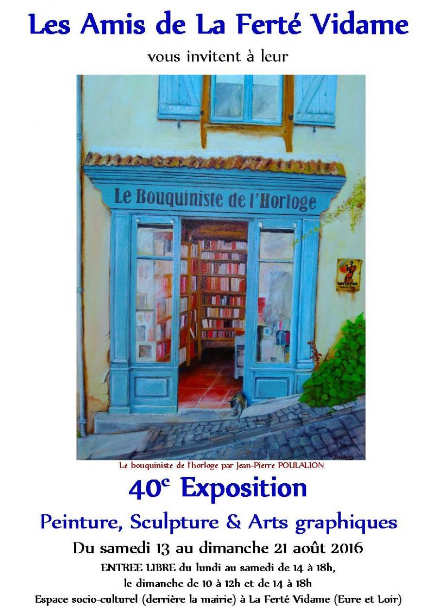 Exposition 40e salon d 39 arts de la fert vidame lamblore for Exposition spa