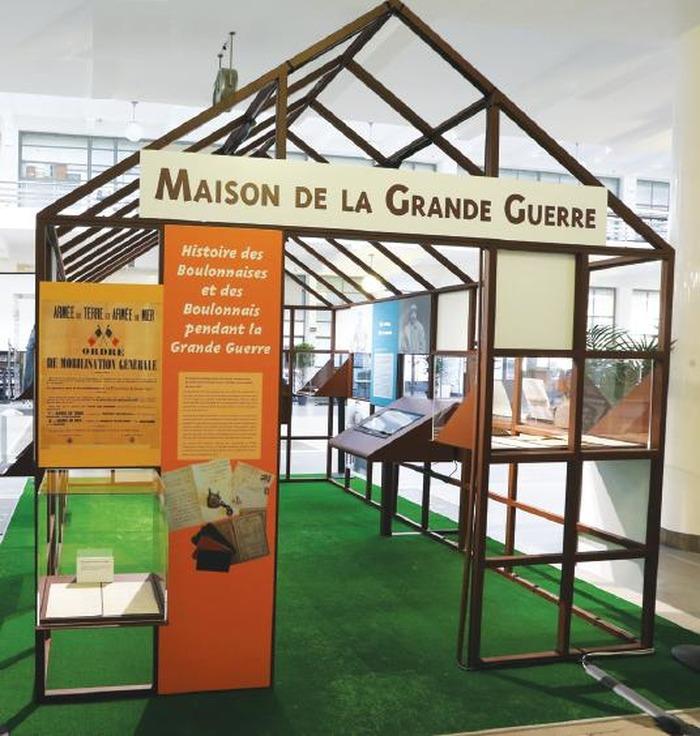 Exposition maison de la grande guerre visite libre for Visite maison modele victoriaville 2016