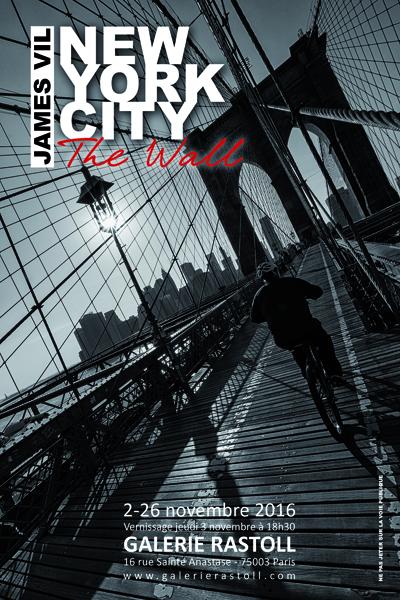 Exposition new york city the wall paris du 2 au 26 for Expos paris novembre 2016