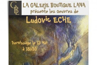 Exposition Des Peintures De Ludovic Eche à Toulouse