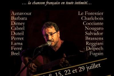 La chanson française en toute intimité... au Théâtre, ce soir ! à Paris 19ème