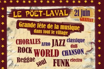 Sur Les Chemins De L'oasis // 4ème Étape à Le Poet Laval