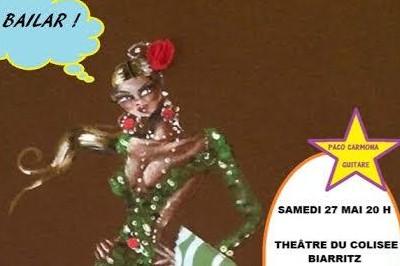 A Bailar! spectacle de flamenco par l'association La Flamenquita à Biarritz