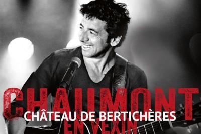 Patrick Bruel en concert au ROYAL JUMP à Chaumont en Vexin