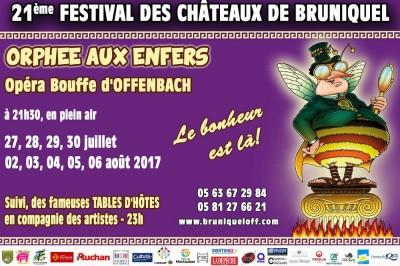 Festival des Châteaux de Bruniquel 2017