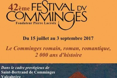 Festival du Comminges 2017