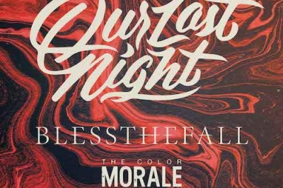 Our Last Night, Blessthefall et The Color Morale à Villeurbanne