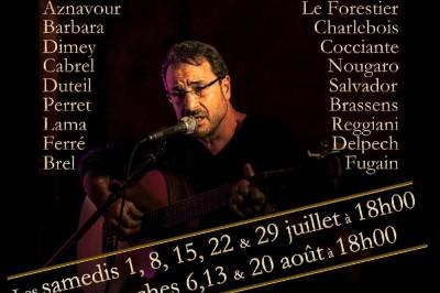 La chanson française en toute intimité à Paris 19ème
