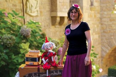 Séances plein air de contes avec marionnettes à Bonrepos Riquet