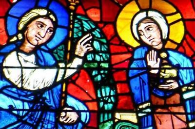 Vitraux Grand Format - Les Plus Belles Annonciations à Chartres