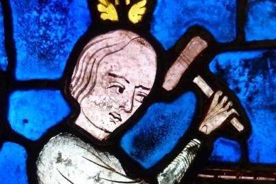 Vitraux Grand Format - Vitrail De St Eustache – Partie Ii à Chartres