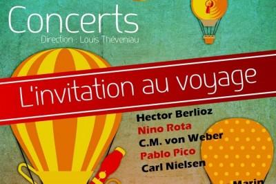 Orchestre Sortilège - L'invitation au voyage à Saint Maixent l'Ecole