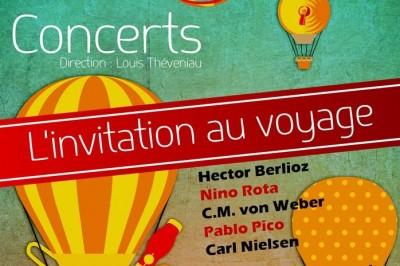 Orchestre Sortilège - L'invitation au voyage à Nieul sur Mer