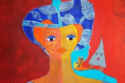 Aconcha artiste cubaine: Dans les sillons de l'art brut à La Roque d'Antheron