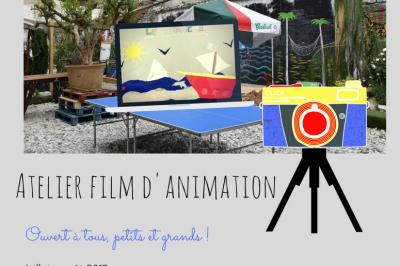 Ateliers d'initiation au film d'animation – juillet/août 2017 à Paris 20ème