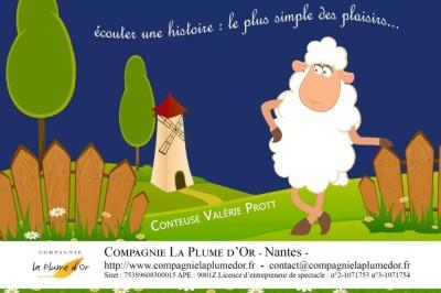 Quand soufflent les contes : A la ferme de Léonard à Nantes