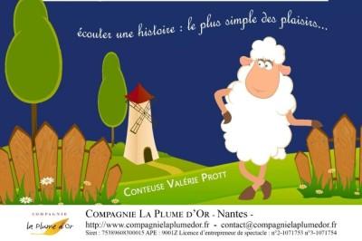 Quand soufflent les contes pour les bébés : Chouette il pleut à Nantes