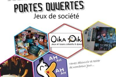 Portes Ouvertes jeux de société à Bourgoin Jallieu