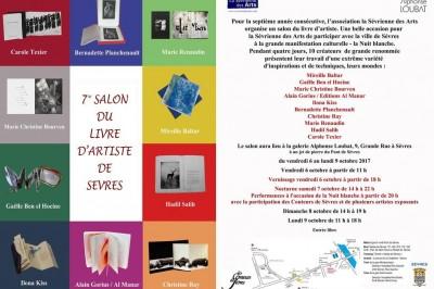 7e Salon du Livre d'artiste de Sèvres à Sevres