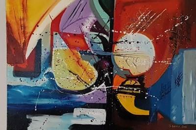Exposition art abstrait aux  Partage 61 cours Victor Hugo-84300 cavaillon à Cavaillon