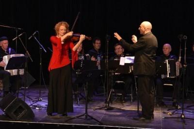 Concert d'accordéon à Mazan