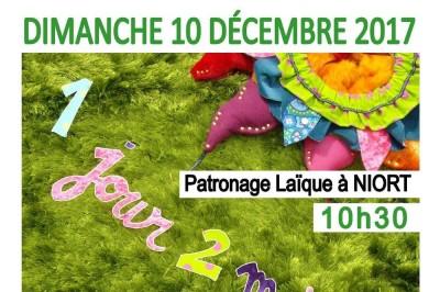 1 Jour 2 Mains : Théâtre Visuel et Poétique pour les 3 mois à 3 ans à Niort