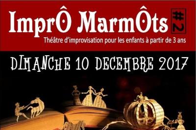 ImprÔ MarmÔts #2 : Théâtre d'improvisation pour les enfants à partir de 3 ans et leur famille à Niort